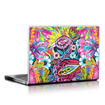 Laptop Skin - Flashy Flamingo
