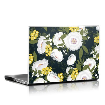 Laptop Skin - Fleurette Night