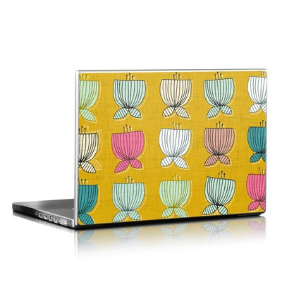 Laptop Skin - Flower Cups