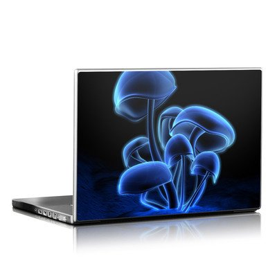 Laptop Skin - Fluorescence Blue