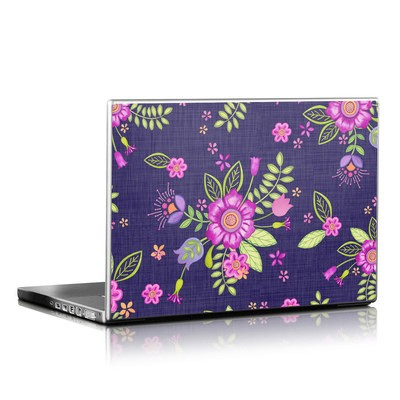 Laptop Skin - Folk Floral
