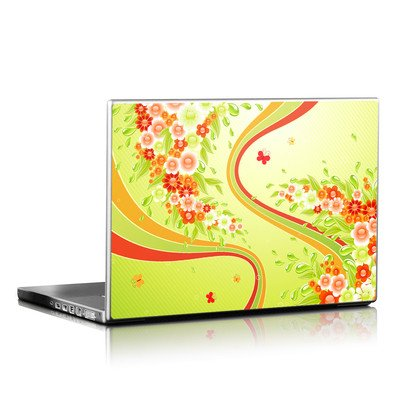 Laptop Skin - Flower Splash