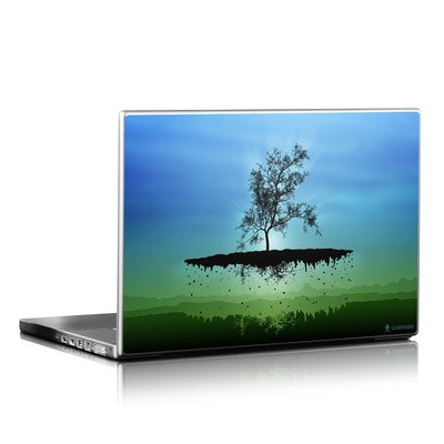 Laptop Skin - Flying Tree Blue