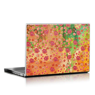 Laptop Skin - Garden Flowers