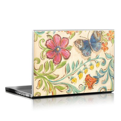 Laptop Skin - Garden Scroll