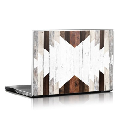 Laptop Skin - Geo Wood