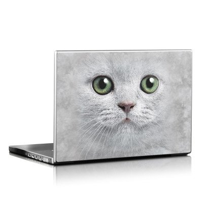 Laptop Skin - Grey Kitty