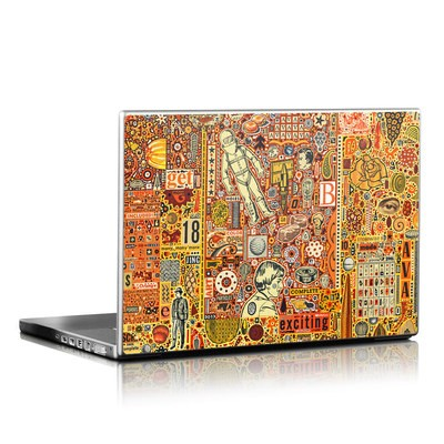 Laptop Skin - The Golding Time