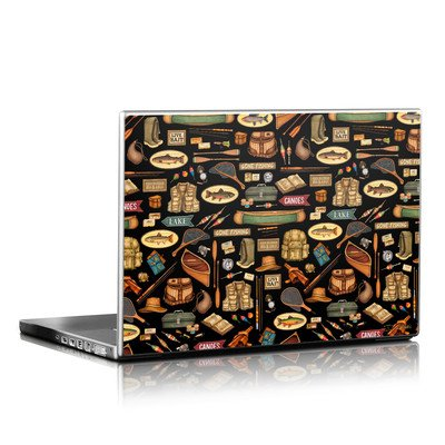 Laptop Skin - Gone Fishing