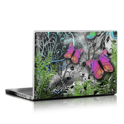 Laptop Skin - Goth Forest