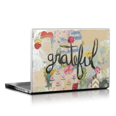 Laptop Skin - Grateful