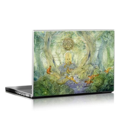 Laptop Skin - Green Gate