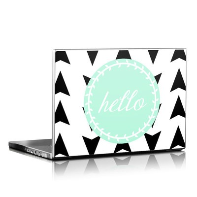 Laptop Skin - Greetings