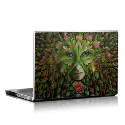 Laptop Skin - Green Woman