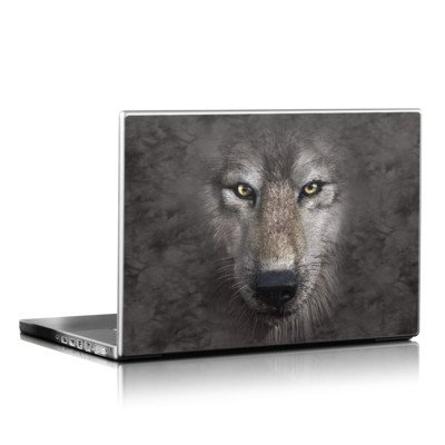 Laptop Skin - Grey Wolf