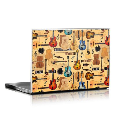 Laptop Skin - Guitar Collage