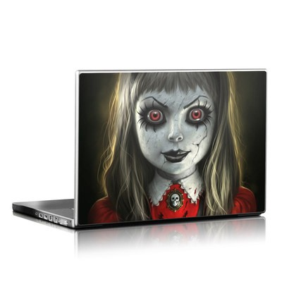 Laptop Skin - Haunted Doll