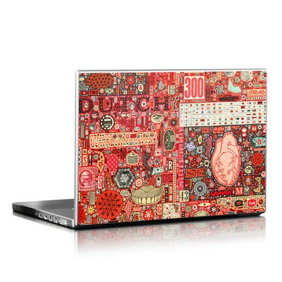 Laptop Skin - Heart and Teeth