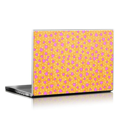 Laptop Skin - Heart Toss
