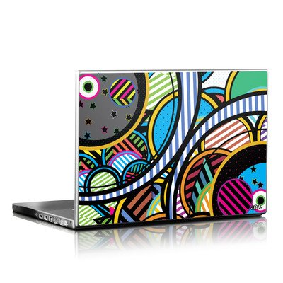 Laptop Skin - Hula Hoops
