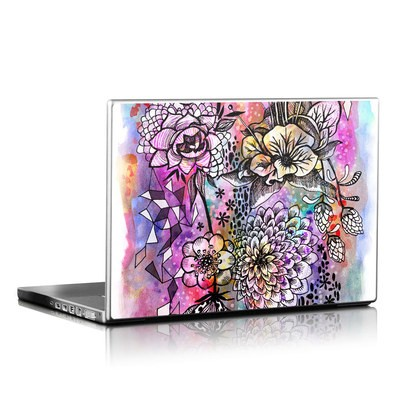 Laptop Skin - Hot House Flowers