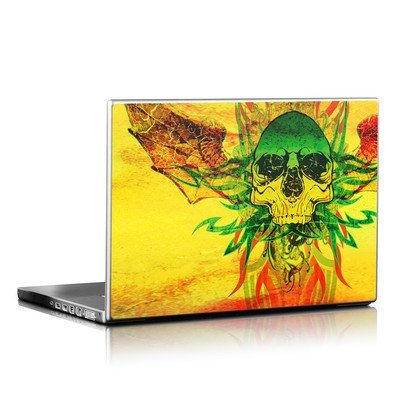 Laptop Skin - Hot Tribal Skull