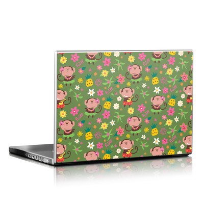 Laptop Skin - Hula Monkeys