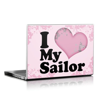 Laptop Skin - I Love My Sailor