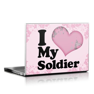 Laptop Skin - I Love My Soldier