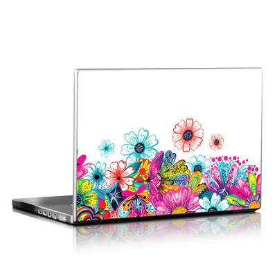 Laptop Skin - Intense Flowers