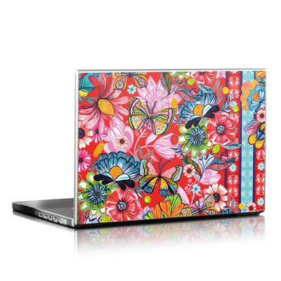 Laptop Skin - Intense Garden