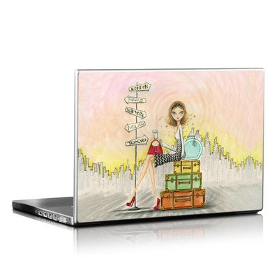 Laptop Skin - The Jet Setter