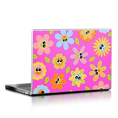 Laptop Skin - Kawaii Flower