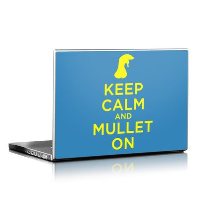 Laptop Skin - Keep Calm - Mullet