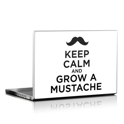 Laptop Skin - Keep Calm - Mustache