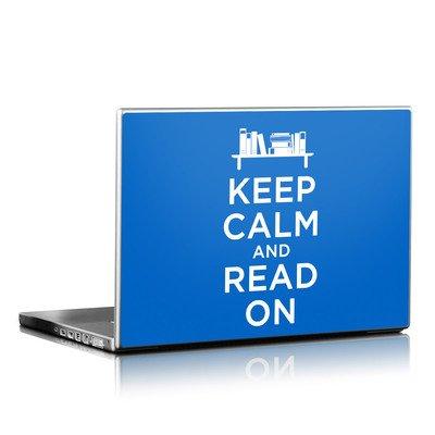 Laptop Skin - Keep Calm - Read