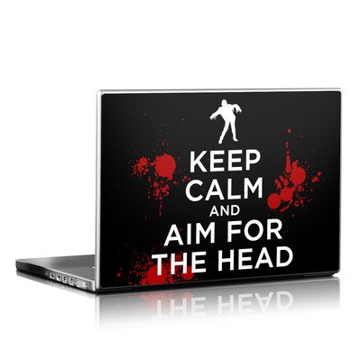Laptop Skin - Keep Calm - Zombie