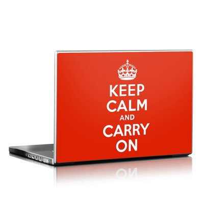 Laptop Skin - Keep Calm
