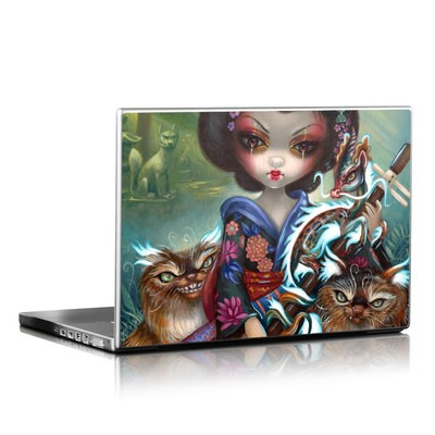 Laptop Skin - Kirin and Bakeneko