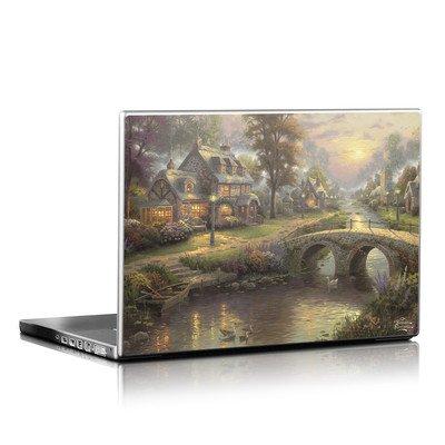 Laptop Skin - Sunset On Lamplight Lane