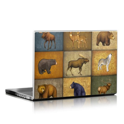 Laptop Skin - Lodge Animals