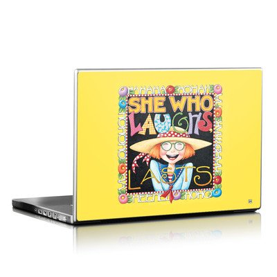 Laptop Skin - She Who Laughs