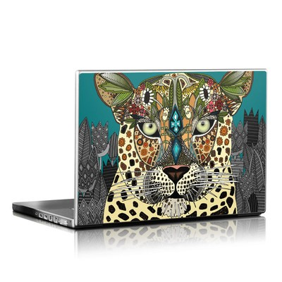 Laptop Skin - Leopard Queen