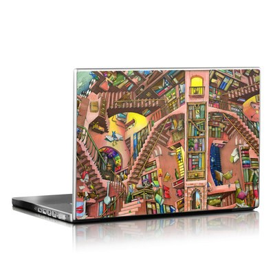 Laptop Skin - Library Magic