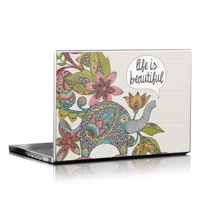 Laptop Skin - Life is Beautiful