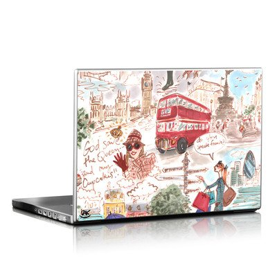Laptop Skin - London