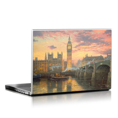 Laptop Skin - London - Thomas Kinkade