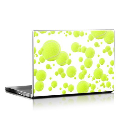 Laptop Skin - Lots of Tennis Balls