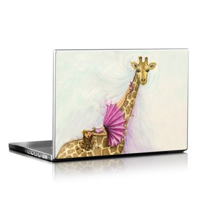 Laptop Skin - Lounge Giraffe