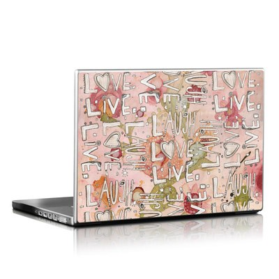 Laptop Skin - Love Floral